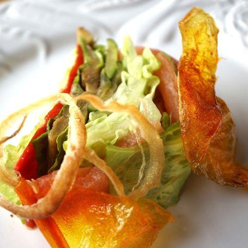 Club sandwich végétal