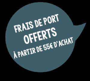 Pastille Frais de port offerts